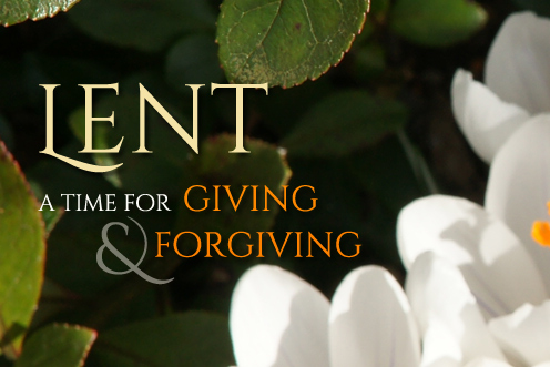 A Time for Giving & Forgiving