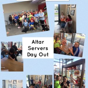 ALTAR SERVER'S DAY OUT 2019